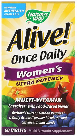 Alive - лучший комплекс витаминов для женщин